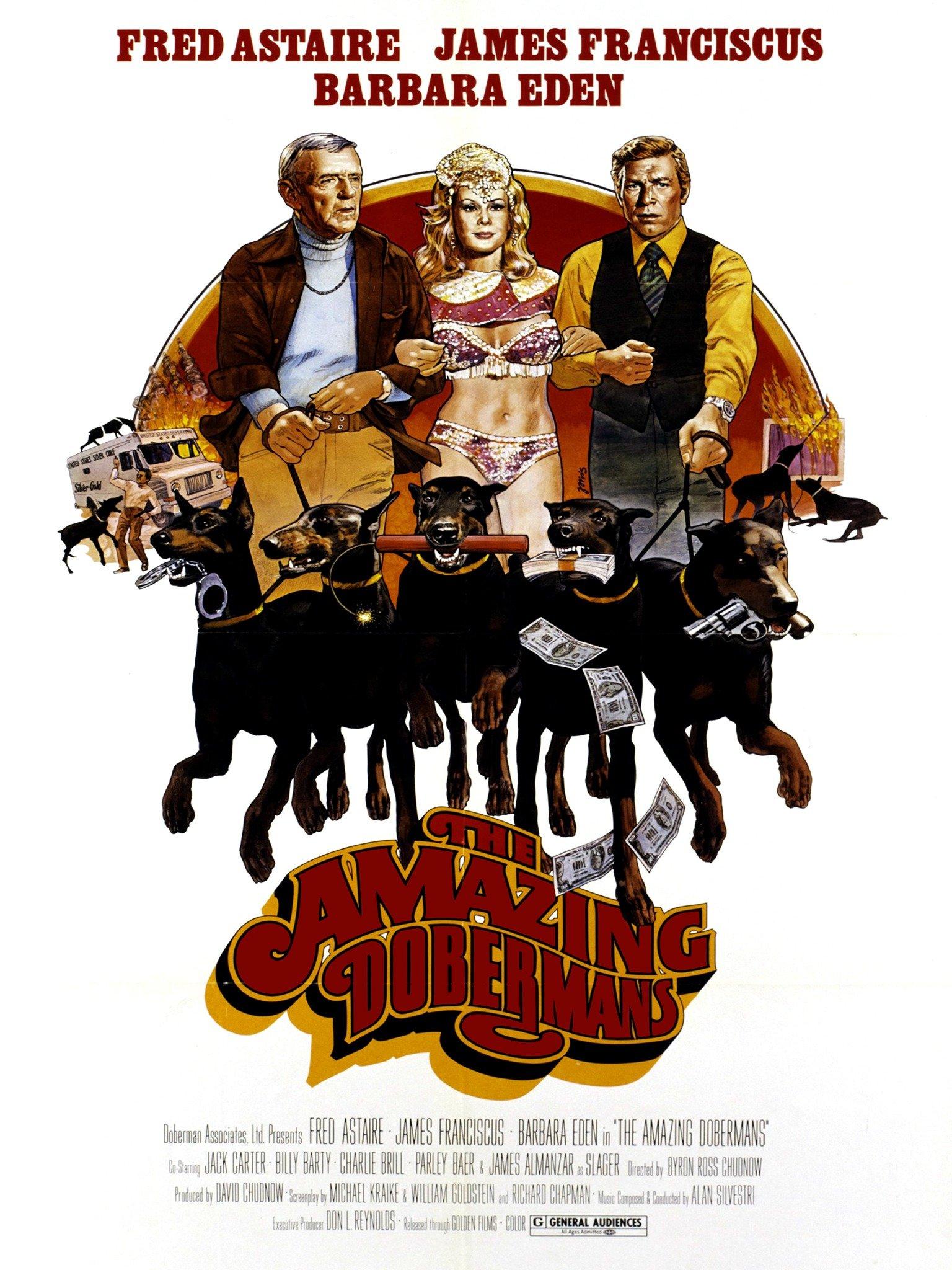 The Amazing Dobermans (1976)